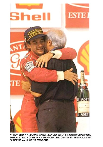 SENNA AND FANGIO
