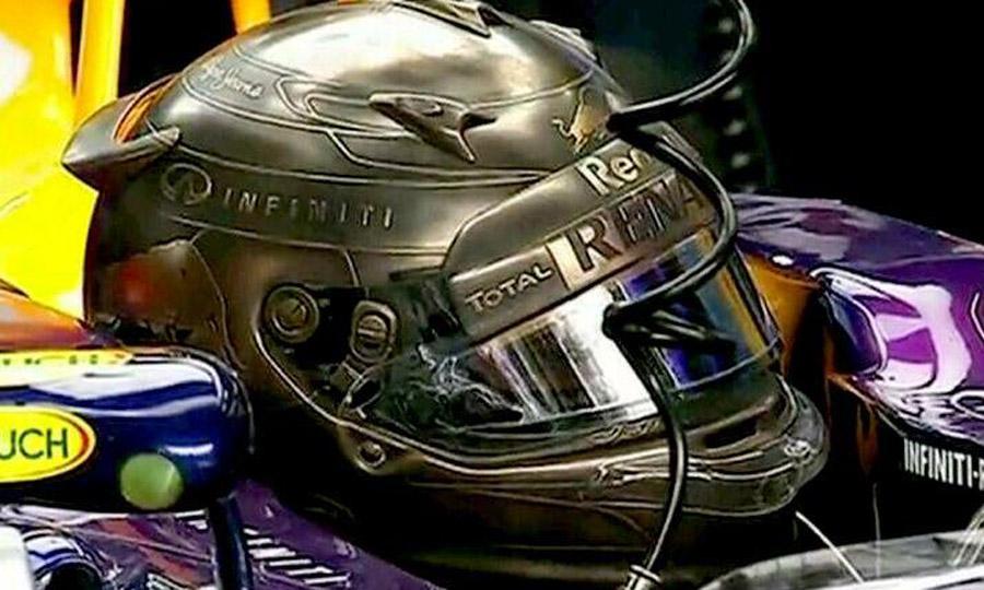 Sebastian Vettel Helmet 2014 Sebastian Vettel s Unique 2014